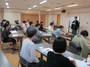 仙堂副会長の講義