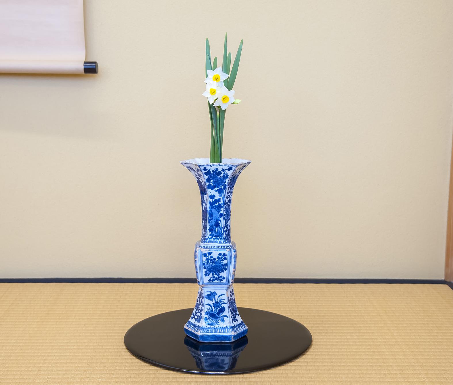 【今月の茶花】平成31年01月の茶花